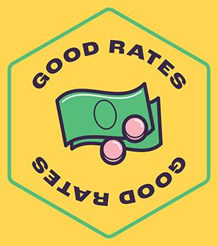 Good rates